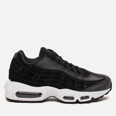 Женские кроссовки Nike Air Max 95 Premium Black/Black/White