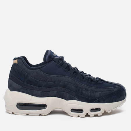 Женские кроссовки Nike Air Max 95 Premium Dark Obsidian/Midnight Navy/Sail