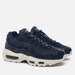 Женские кроссовки Nike Air Max 95 Premium Dark Obsidian/Midnight Navy/Sail фото- 1