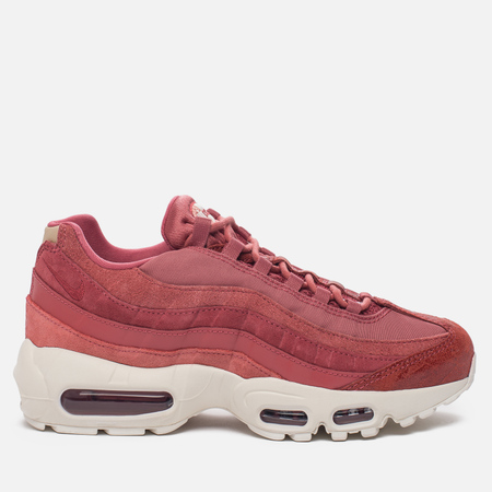 Женские кроссовки Nike Air Max 95 Premium Light Redwood/Red Stardust/Sail/Mushroom