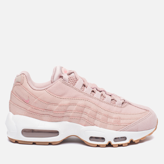 Женские кроссовки Nike Air Max 95 Premium Pink Oxford/Bright Melon
