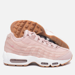 Женские кроссовки Nike Air Max 95 Premium Pink Oxford/Bright Melon фото- 1