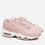 Женские кроссовки Nike Air Max 95 Premium Pink Oxford/Bright Melon фото- 2