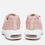 Женские кроссовки Nike Air Max 95 Premium Pink Oxford/Bright Melon фото- 3
