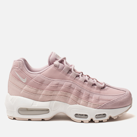 Женские кроссовки Nike Air Max 95 Premium Plum Chalk/Barely Rose/Summit White