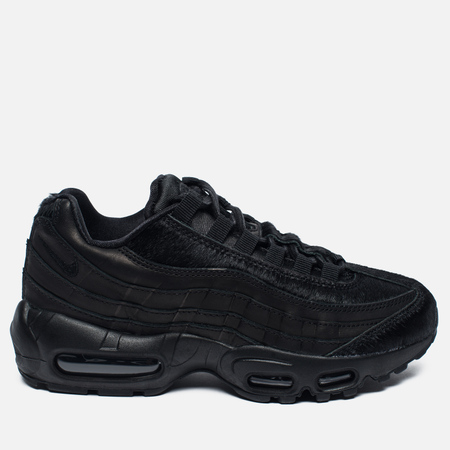 Женские кроссовки Nike Air Max 95 Premium Safari Black/Summit White