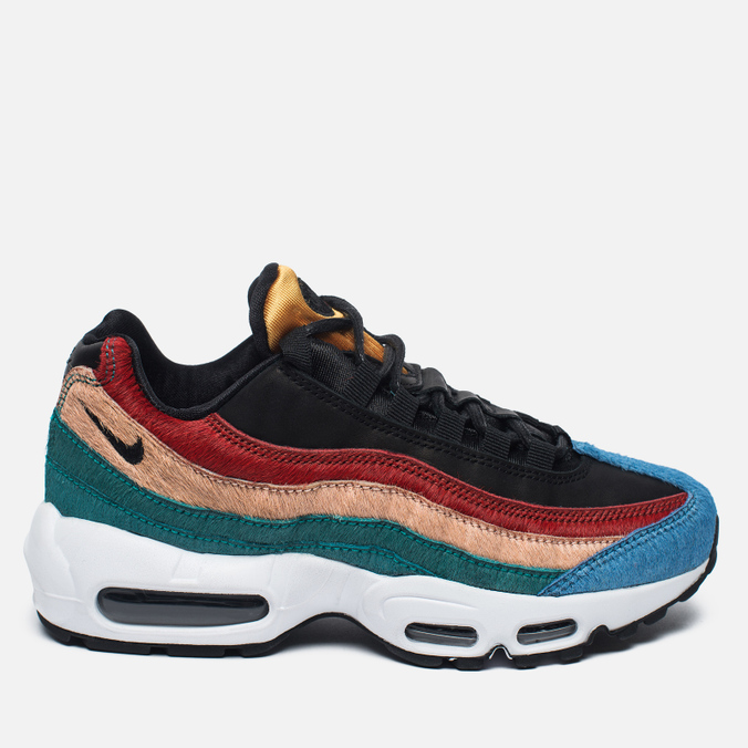 Женские кроссовки Nike Air Max 95 Premium Safari Pack Black/Dark Cayenne/Rio Teal