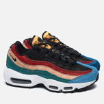 Женские кроссовки Nike Air Max 95 Premium Safari Pack Black/Dark Cayenne/Rio Teal фото- 1