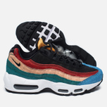 Женские кроссовки Nike Air Max 95 Premium Safari Pack Black/Dark Cayenne/Rio Teal фото- 2