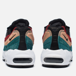 Женские кроссовки Nike Air Max 95 Premium Safari Pack Black/Dark Cayenne/Rio Teal фото- 3