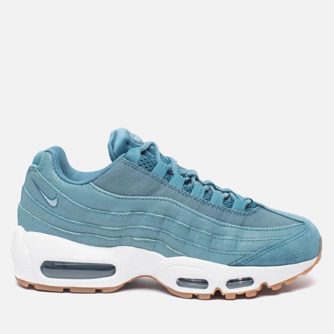 Женские кроссовки Nike Air Max 95 Premium Smokey Blue/Mica Blue