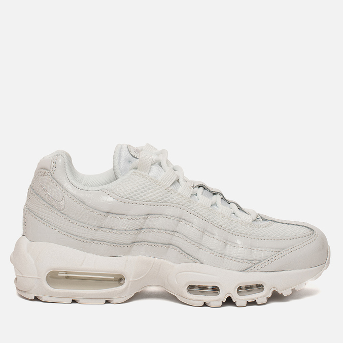 f206f2b05e Женские кроссовки Nike Air Max 95 Premium Summit White/Vast Grey/Summit  White ...