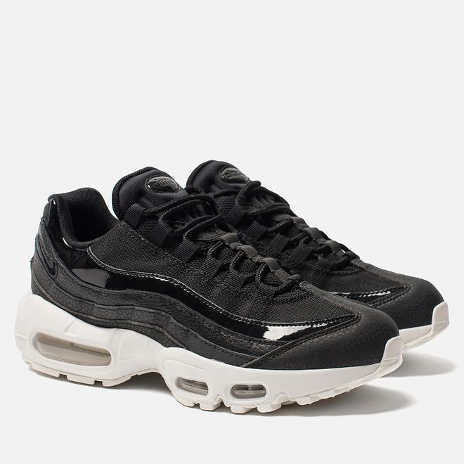 Женские кроссовки Nike Air Max 95 SE Black/Black/Summit White/Platinum Tint