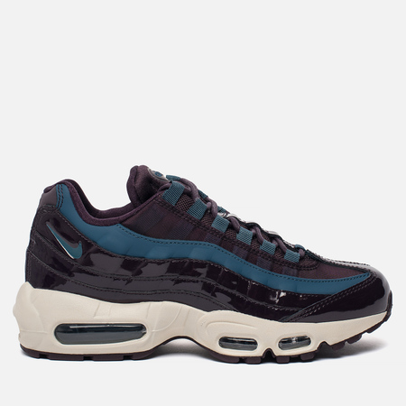 Женские кроссовки Nike Air Max 95 SE Premium Port Wine/Special Blue