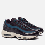 Женские кроссовки Nike Air Max 95 SE Premium Port Wine/Special Blue фото- 1