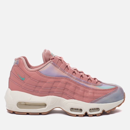 Женские кроссовки Nike Air Max 95 SE Red Stardust/Washed Teal/Sail