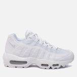 Женские кроссовки Nike Air Max 95 White/White/Pure Platinum фото- 0