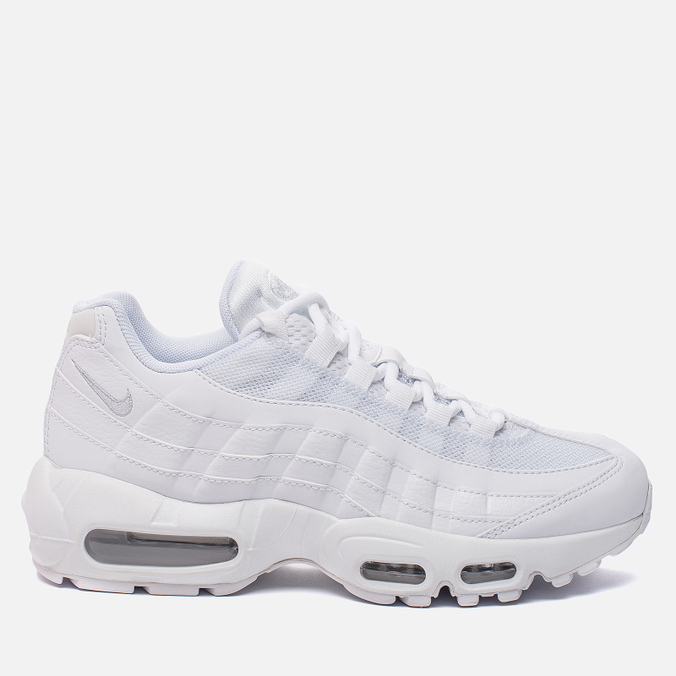 Женские кроссовки Nike Air Max 95 White/White/Pure Platinum