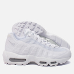 Женские кроссовки Nike Air Max 95 White/White/Pure Platinum фото- 1