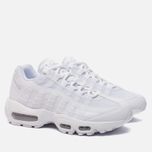 Женские кроссовки Nike Air Max 95 White/White/Pure Platinum фото- 2