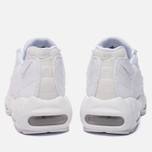 Женские кроссовки Nike Air Max 95 White/White/Pure Platinum фото- 3
