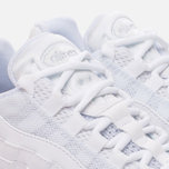 Женские кроссовки Nike Air Max 95 White/White/Pure Platinum фото- 5