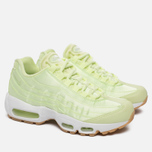 Женские кроссовки Nike Air Max 95 WQS Liquid Lime/White/Gum Light Brown фото- 1