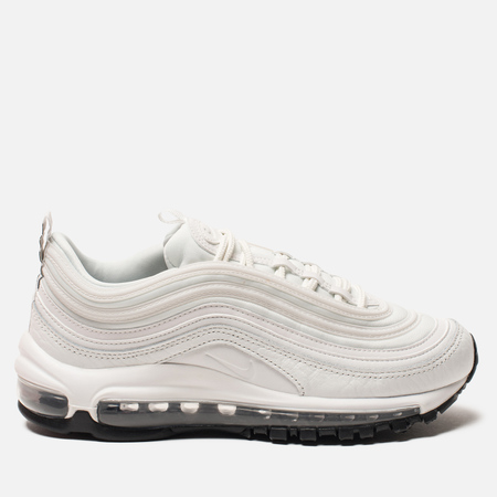 Женские кроссовки Nike Air Max 97 Leather Summit White/Black/Summit White