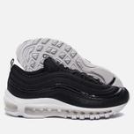 Женские кроссовки Nike Air Max 97 Premium Black/Black/White фото- 1