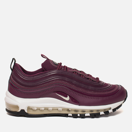 Женские кроссовки Nike Air Max 97 Premium Bordeaux/Muslin/Black
