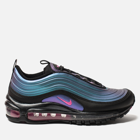 Женские кроссовки Nike Air Max 97 RF Black/Laser Fuchsia/Thunder Grey