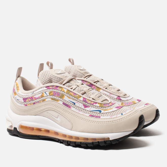 Женские кроссовки Nike Air Max 97 SE Floral Light Orewood Brown/White/Laser Orange/White