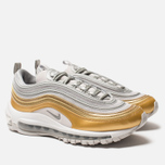 Женские кроссовки Nike Air Max 97 SE Vast Grey/Metallic Silver/Metallic Gold фото- 4