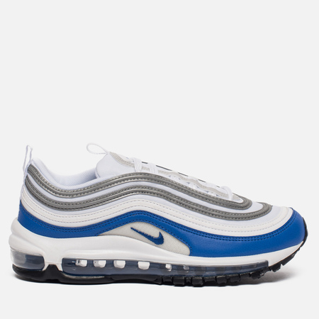 Женские кроссовки Nike Air Max 97 White/Game Royal/Neutral Grey