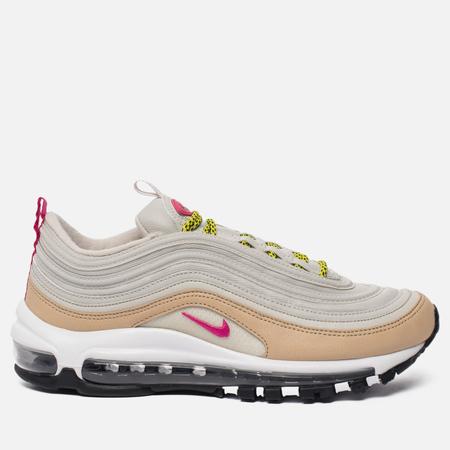 Женские кроссовки Nike Air Max 97 Light Bone/Deadly Pink
