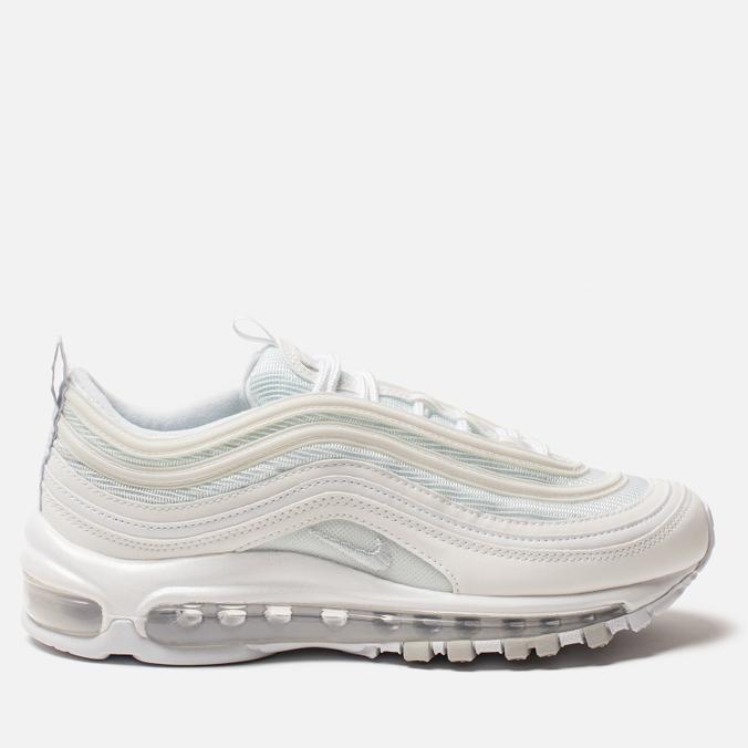 Женские кроссовки Nike Air Max 97 White/White/Pure Platinum