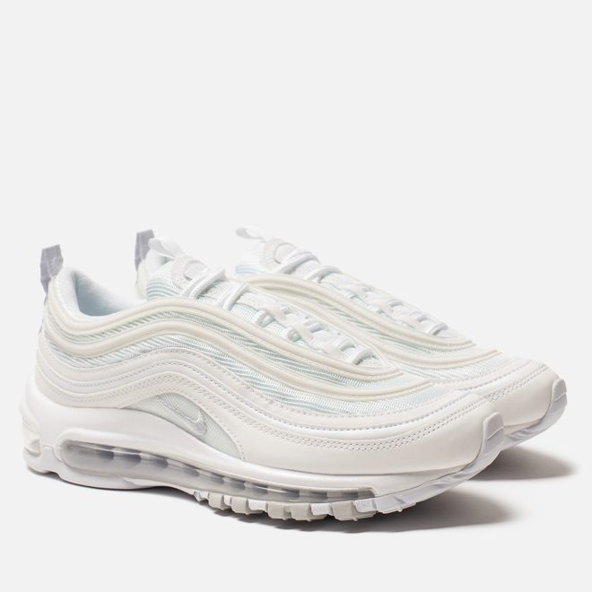 Женские кроссовки Nike Air Max 97 White/White/Pure Platinum