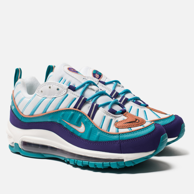Женские кроссовки Nike Air Max 98 Court Purple/Terra Blush/Spirit Teal