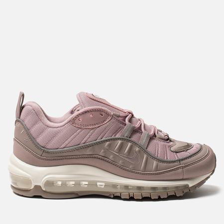 Женские кроссовки Nike Air Max 98 Pumice/Pumice/Plum Chalk/Summit White