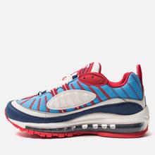 Женские кроссовки Nike Air Max 98 Summit White/Blue Void/University Red фото- 5