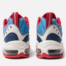 Женские кроссовки Nike Air Max 98 Summit White/Blue Void/University Red фото- 2