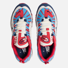 Женские кроссовки Nike Air Max 98 Summit White/Blue Void/University Red фото- 1