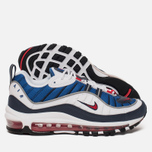 Женские кроссовки Nike Air Max 98 White/University Red/Obsidian фото- 1