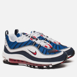 Женские кроссовки Nike Air Max 98 White/University Red/Obsidian фото- 2