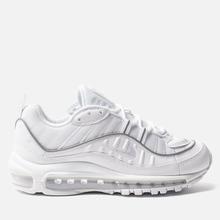Женские кроссовки Nike Air Max 98 White/White/White фото- 3