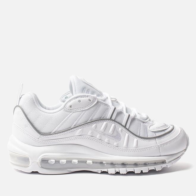 Женские кроссовки Nike Air Max 98 White/White/White