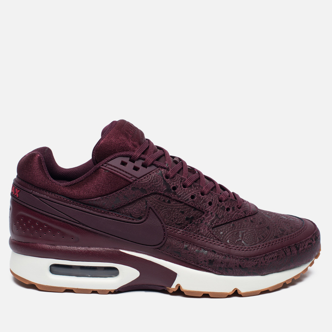 Женские кроссовки Nike Air Max BW Premium Night Maroon/Noble Red/Sail