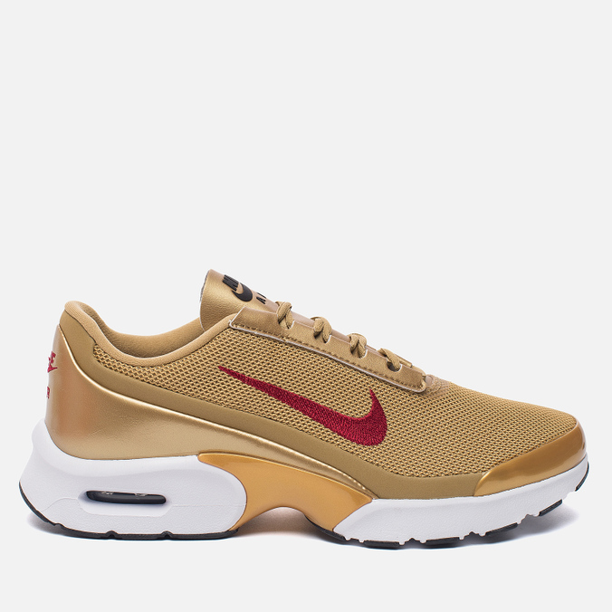 Женские кроссовки Nike Air Max Jewell QS Metallic Gold/Varsity Red/White/Black