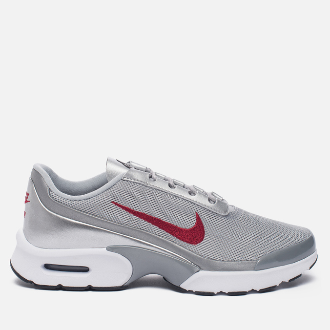 Женские кроссовки Nike Air Max Jewell QS Metallic Silver/Varsity Red/Black/White