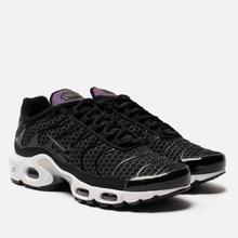 Женские кроссовки Nike Air Max Plus Black/Black/White фото- 0